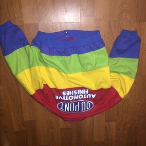 Vintage Jeff Gordon DuPont rainbow jacket